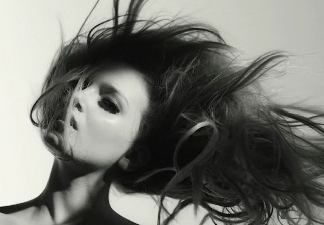 Lily Donaldson's Flying Hair by Matthew Donaldson   Source: Nowness