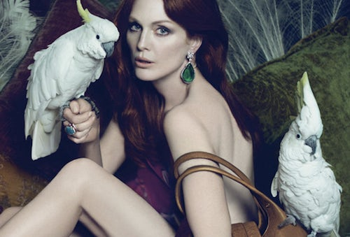Julianne Moore for Bulgari 2010 | Source: Bulgari