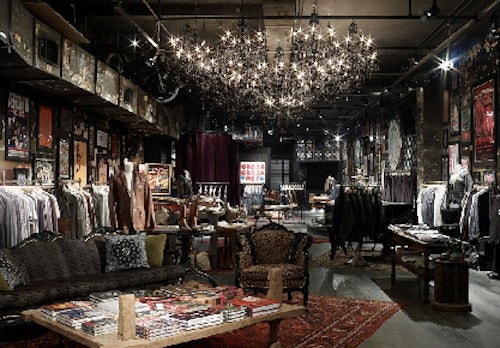 John Varvatos Bowry Street Boutique in the former CBGB | Source: Racked