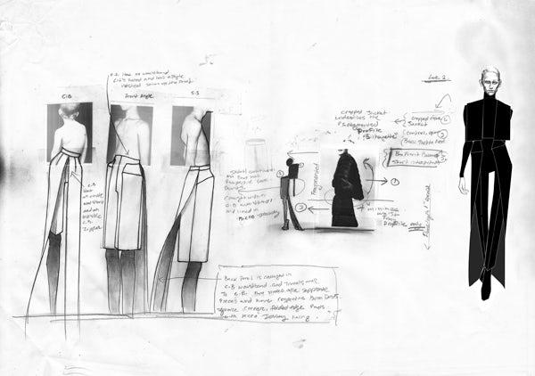 Thomas Tait's Sketchbook   Source: Thomas Tait