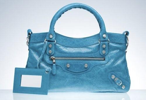 Balenciaga Giant First Handbag, available at Barneys | Source:  Balenciaga