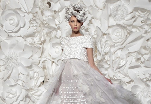 Chanel Haute Couture Spring 2010 | Source: Ledefile