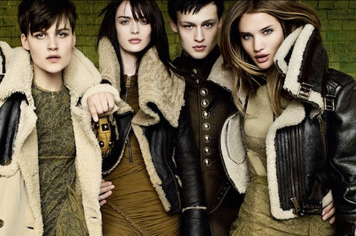 Burberry Prorsum Autumn/Winter 2010 | Source: Burberry