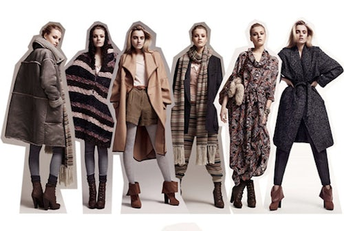 H&M Autumn/Winter 2010 Looks | Source: Style Pantry