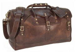 J.W. Hulme Heritage Leather Duffle Bag | Source: J.W. Hulme