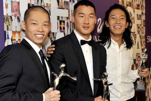 Jason Wu, Richard Chai and Alexander Wang | Source: Mochi