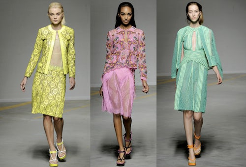 Christopher Kane Spring/Summer 2011 | Source: Style.com