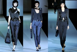 Giorgio Armani Spring 2011 Ready to Wear | Source: Style.com