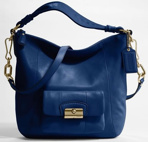 Coach Kristin Leather Hobo Bag | Source: Coach