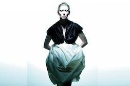 Tilda Swinton in Zero Maria Cornejo | Source: Style Frizz