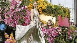 Ungaro Spring/Summer 2011 | Source: Style.com