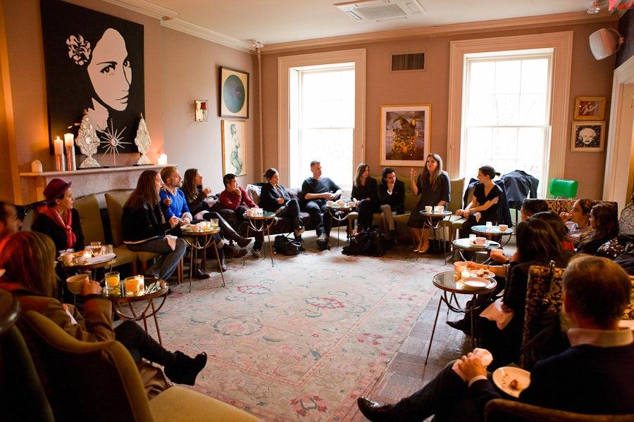 BoF Breakfast Club at Norwood Club   Photo: Drew Innis