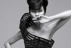 Maggie Cheung for Lane Crawford | Source: Pomegranita