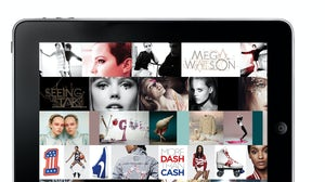 Graphic User Interface of British Vogue iPad App