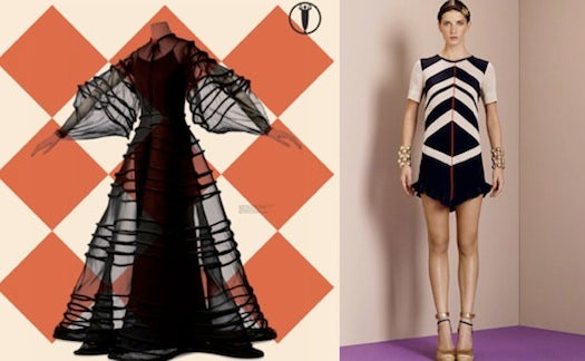 Vionnet, Then and Now | Source: PSFK