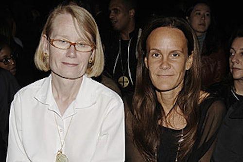 Judy Collinson with Julie Gilhart | Source: Rodim