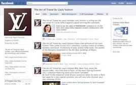 Louis Vuitton Facebook Page | Source: Facebook