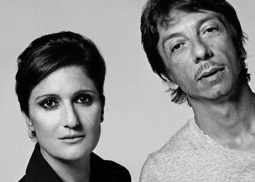Maria Grazia Chiuri and Pier Paolo Piccioli | Source: Wasafix