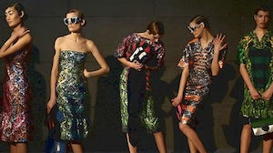 Prada's first show outside Europe in Beijing | Source: The Australian