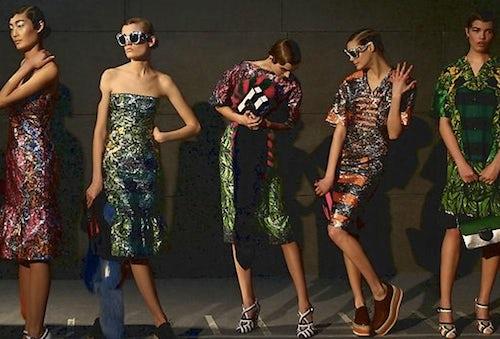 Prada's first show outside Europe in Beijing | Source: The Australian