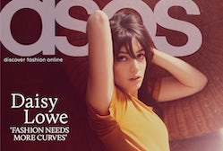 Daisy Lowe Covers the March 2011 Asos Magazine | Source: Asos