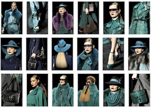 Gucci Autumn/Winter 2011 details | Source: Style.com