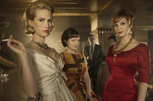 The women of AMC's Mad Men | Source: AMCTV