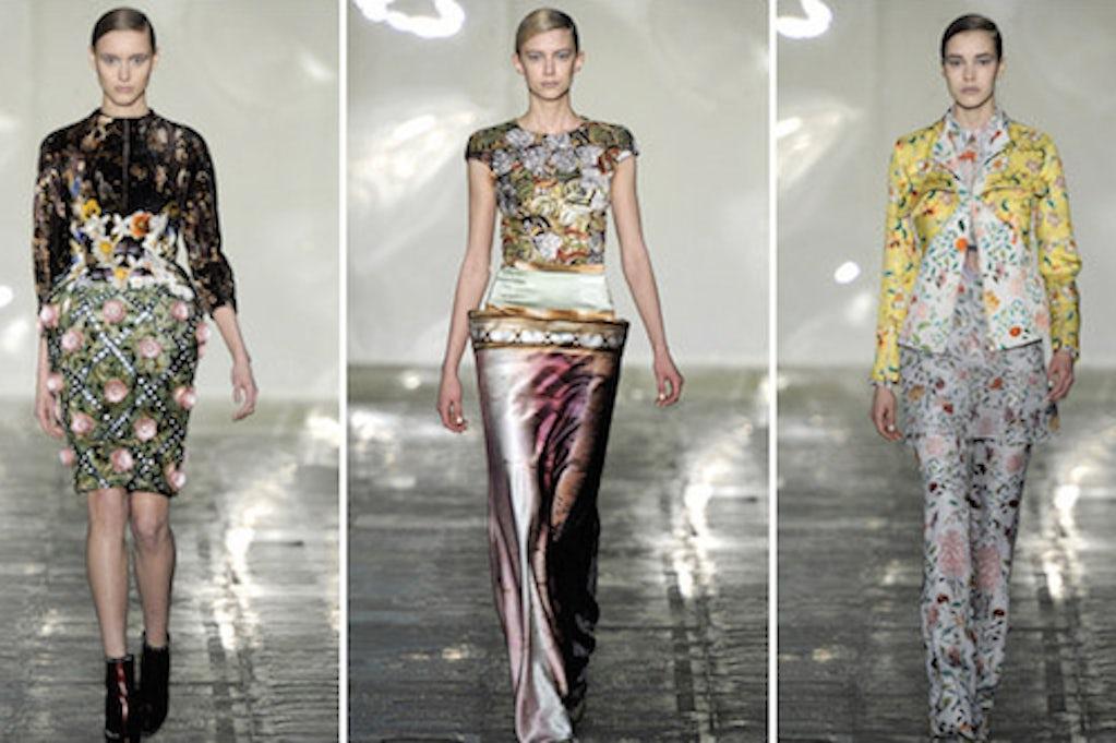 Mary Katrantzou S Digital Beauty A Purple World Fashion East Spawns Lulu Co Macy S Net Jumps Mcqueen S Spell Daily Digest Bof