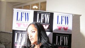 Bandana Tewari at Lakmé Fashion Week   Photo: BoF