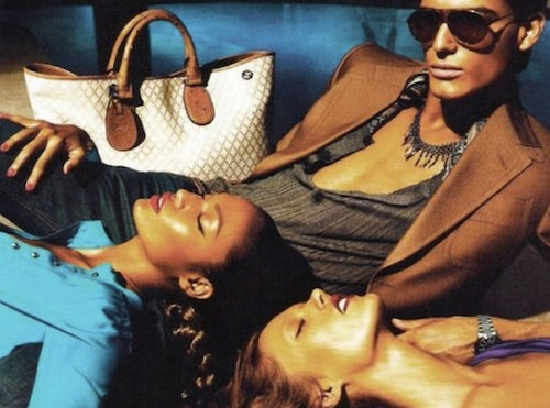 Gucci Spring/Summer 2011 Campaign | Source: Fashion Fame