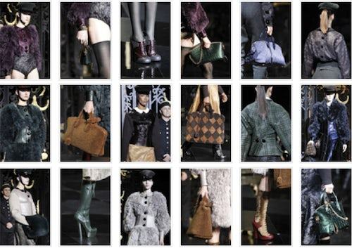 Louis Vuitton Autumn/Winter 2011 Details | Source: Style.com
