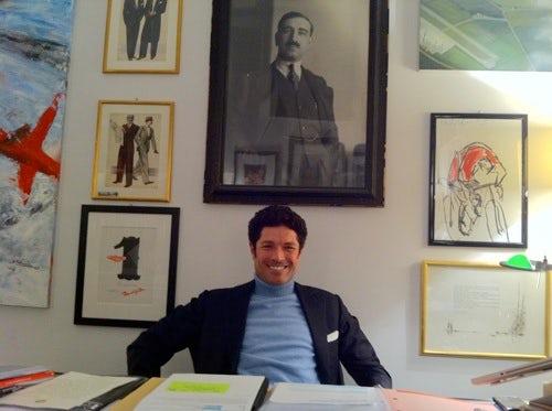 Matteo Marzotto, CEO Vionnet   Source: BoF