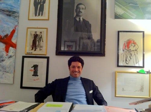 Matteo Marzotto, CEO Vionnet | Source: BoF