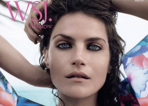 Missy Rayder for WSJ Magazine Spring 2011 | Source: Art8amby