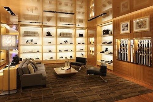 Louis Vuitton boutique Warsaw, opened 2010 | Source: Luxguru