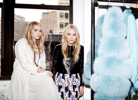 Mary-Kate and Ashley Olsen | Source: Andrew Hetherington for Newsweek