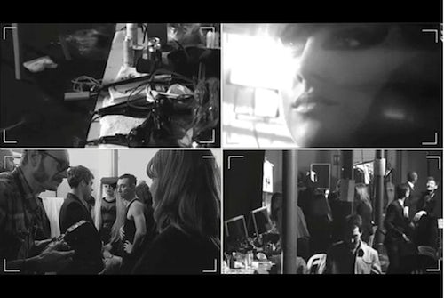 Mugler's pre-show and backstage live stream | Courtesy Photo