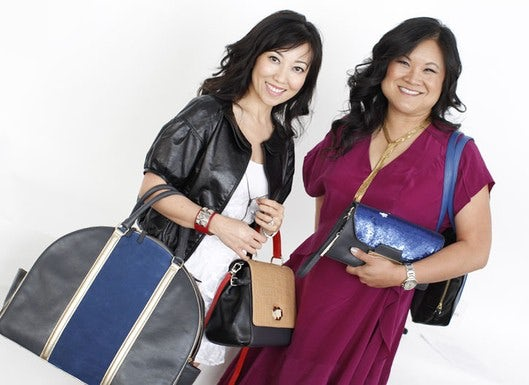 Tina Craig and Kelly Cook of Bag Snob | Source: Bag Snob