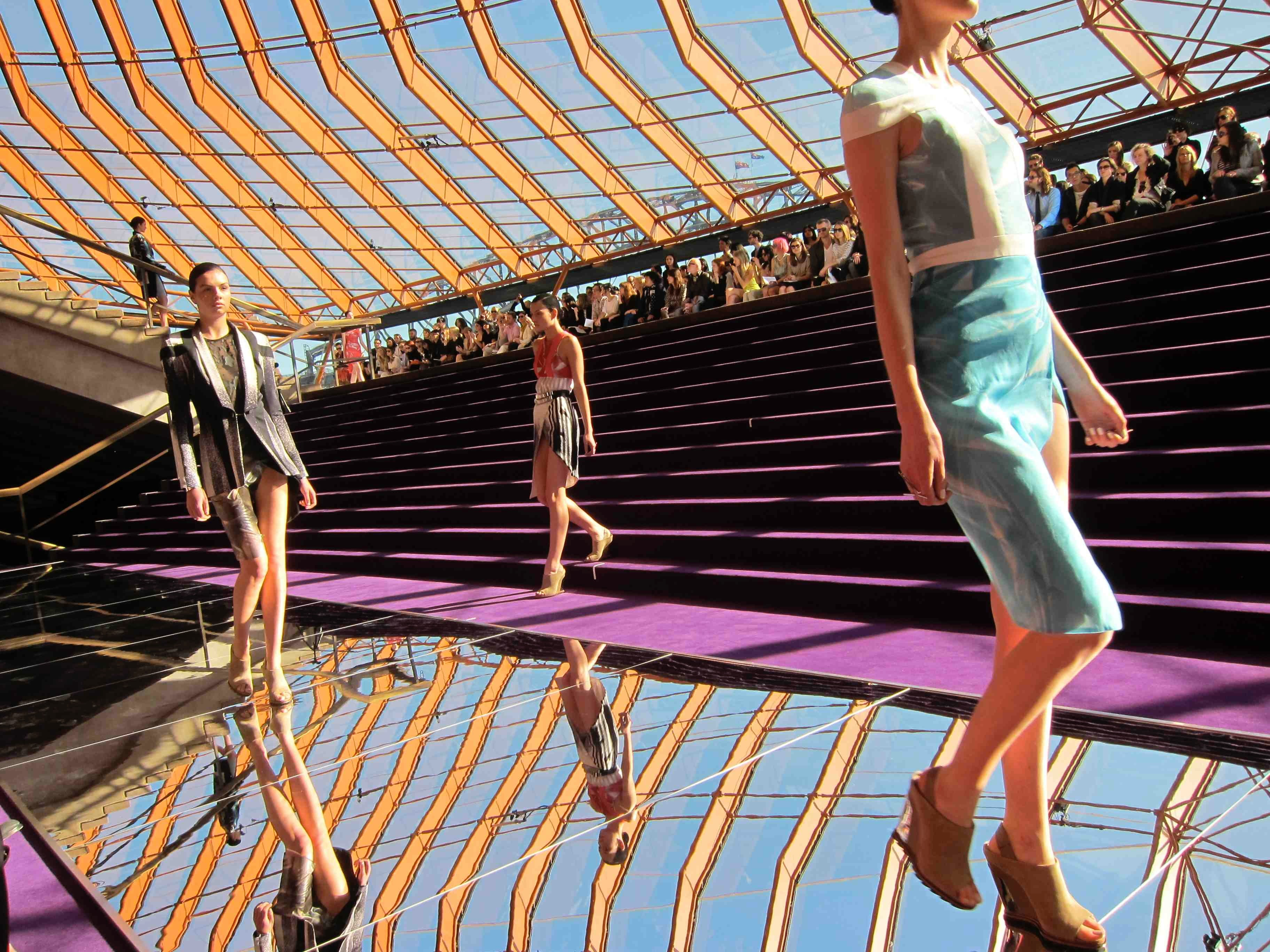 Dion Lee S/S 2011 at Sydney Opera House | Photo: BoF