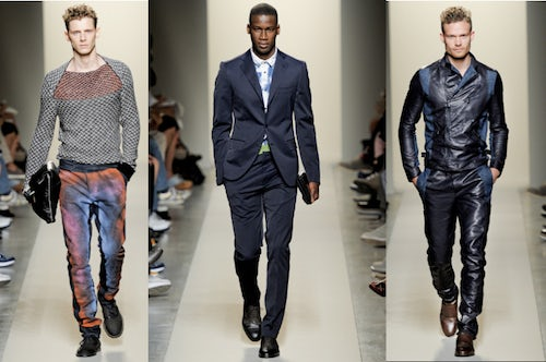 Bottega Veneta Mens Spring 2010 | Source: Style.com