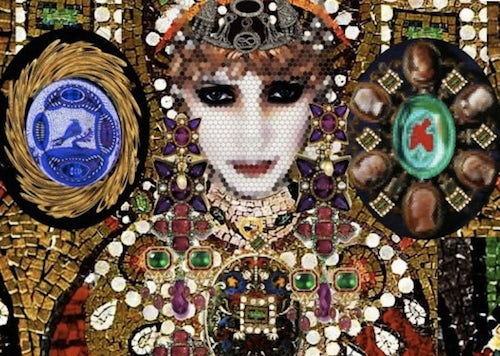Christian Lacroix's Theodora Collection for Sicis, detail | Source: eRoom
