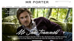 Mr Porter Screenshot | Source: Mr Porter