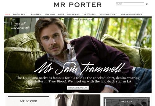 Mr Porter Screenshot | Source: Mr Porter