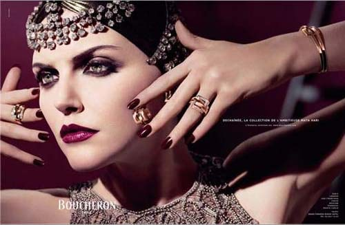 Boucheron Autumn Winte 2006/7 Photographed by Peter Lindbergh