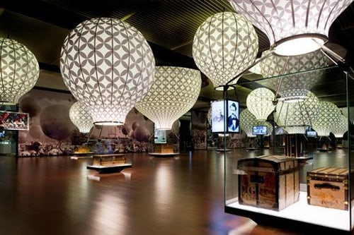 Louis Vuitton Voyages Exhibition, National Museum of China photographed by Luc Castel | Source: Louis Vuitton