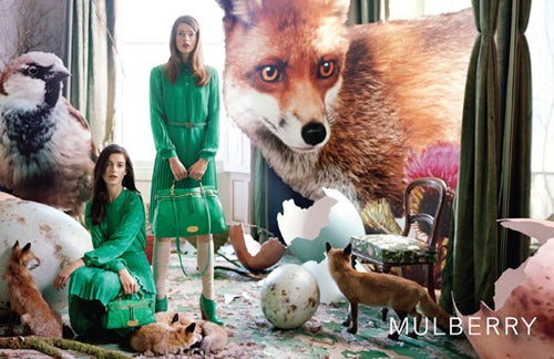 Mulberry Autumn Winter 2011 photographed by Tim Walker | Source: Mulberry