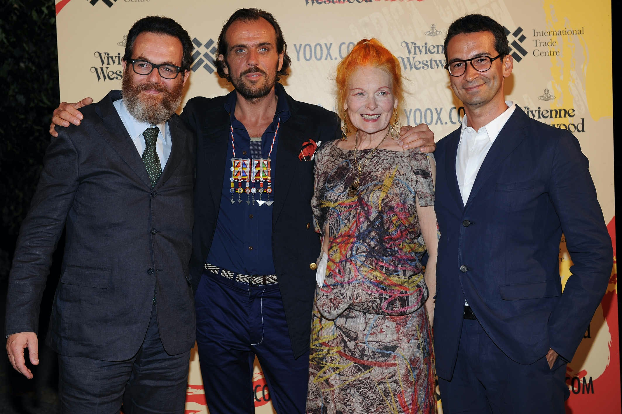 Simone Cipriani, Andreas Kronthaler, Vivienne Westwood, Federico Marchetti | Source: The Ethical Fashion Programme