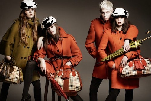 Burberry A/W 2011 Campaign | Source: Burberry