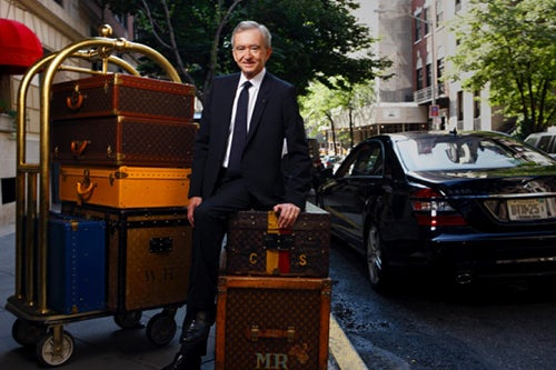 Bernard Arnault |  Source: Fashion Pile
