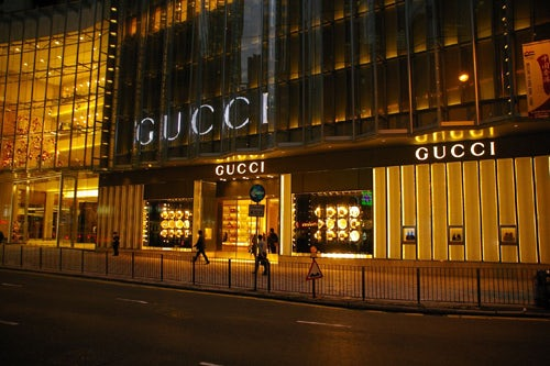 Gucci on Canton Road, Hong Kong   Source: Sky Scrapercity